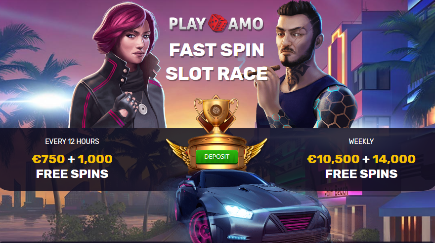 Free spins tournament