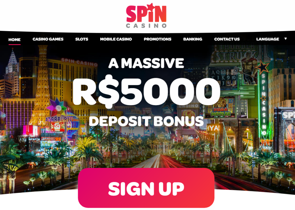 Spin Casino Sign-up Process