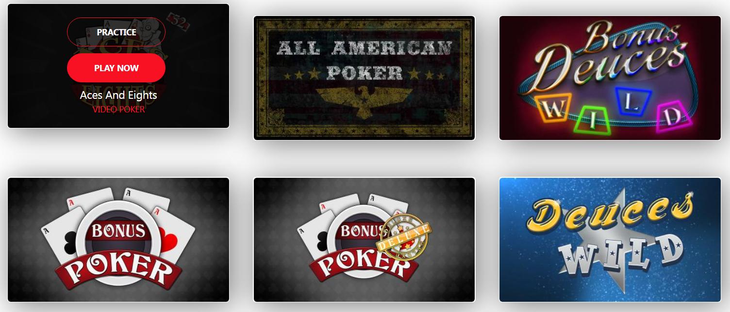 Mga laro sa Video Poker