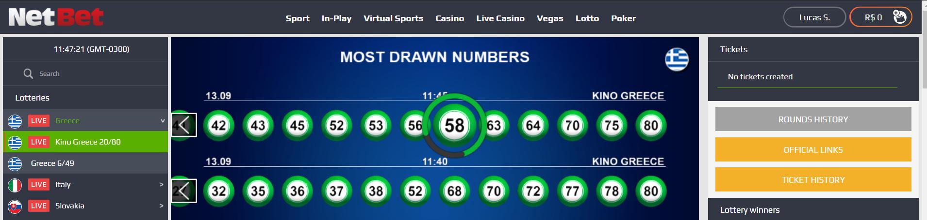NetBet Lottery