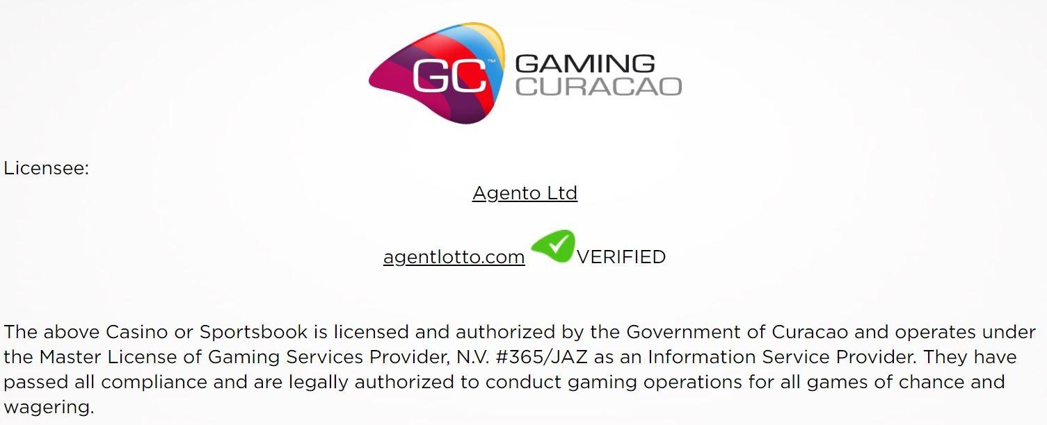 Licensed in Curaçao