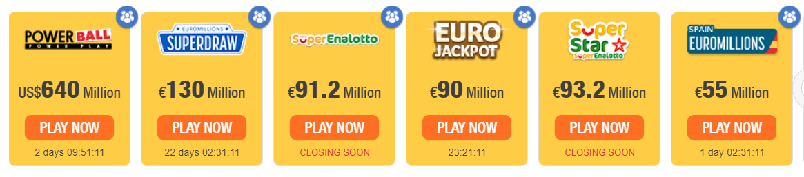 Lotteries on TheLotter