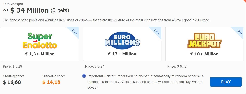 Lottery Bundles