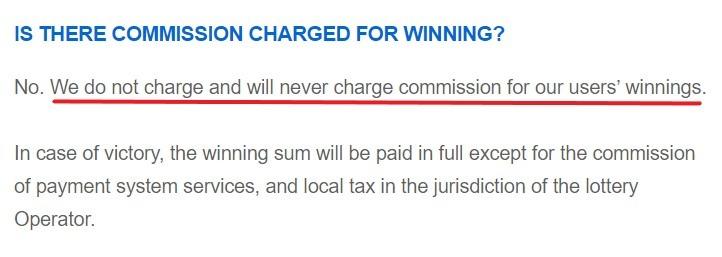 LottoAgent Commissions