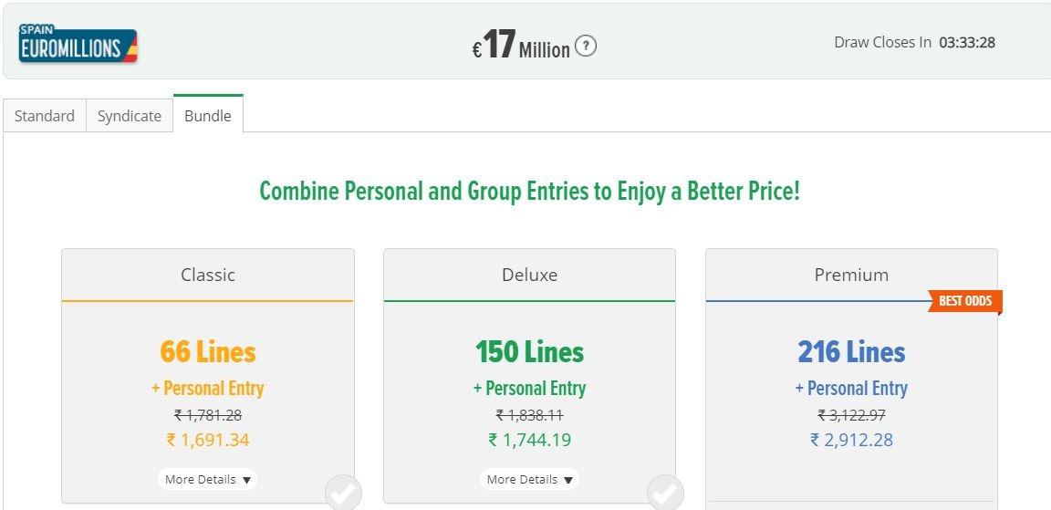 LottoSmile India Bundles