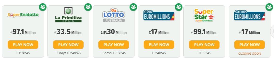 LottoSmile Lotteries