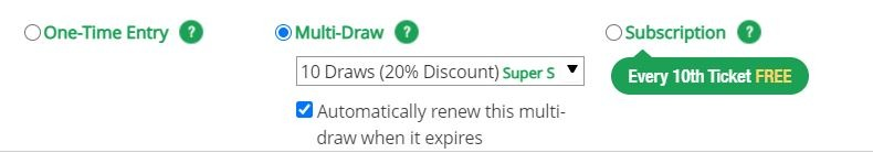 Subscription Bonus