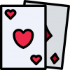 Poker and card games